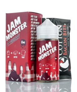 jam monster strawberry e-juice 100ml