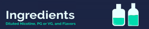 e-juice ingredients banner