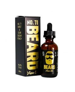 Beard Vape Co No. 71 - Sweet _ Sour Sugar Peach (60ml)