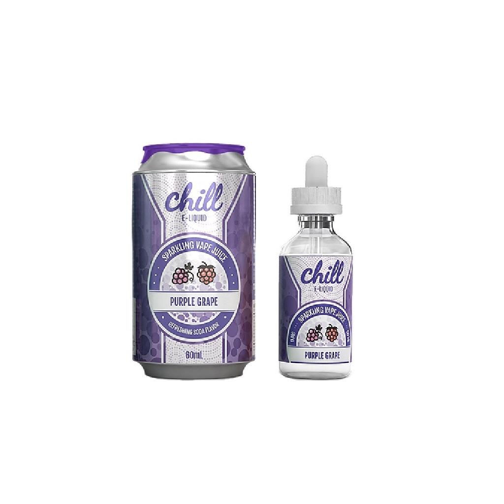 Chill E-Liquid Purple Grape (60ML)