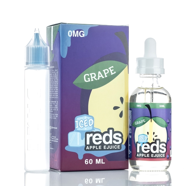 Grape ICED (60mL) - Reds Apple eJuice