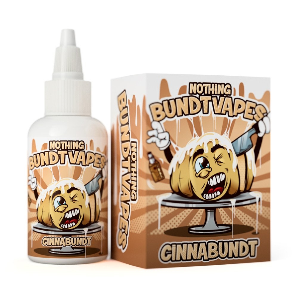Nothing Bundt Vapes - Cinnabundt (60ML)