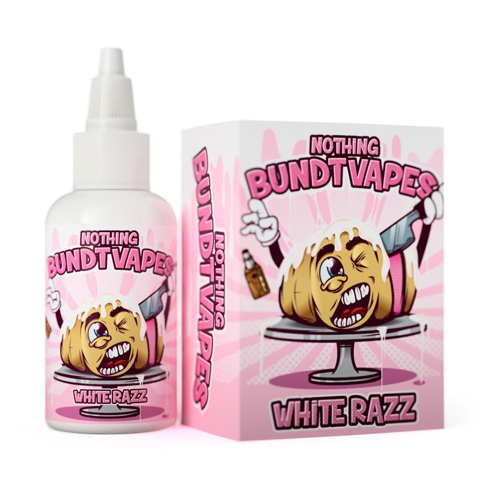 Nothing Bundt Vapes - White Razz (60ML)