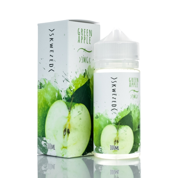 SKWEZED E-Liquid - Green Apple (100mL)