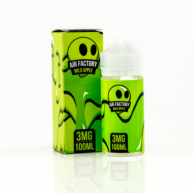Wild Apple - Air Factory E-Liquid Line (100mL)