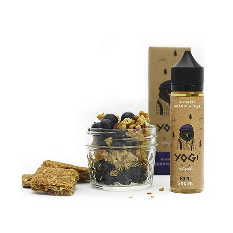 Yogi E-Liquids - Blueberry Granola Bar (60ml)