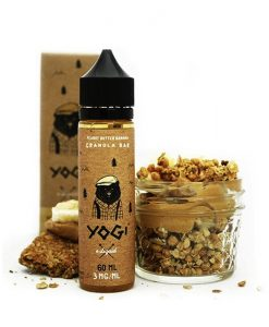 Yogi E-Liquids - Peanut Butter Banana Granola Bar (60ml)