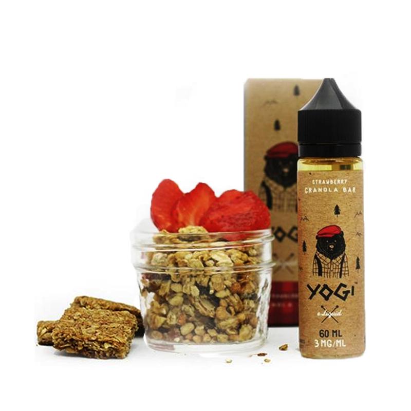 Yogi E-Liquids - Strawberry Granola Bar (60ml)